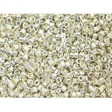 5gr Size 11/0 Galvanised Siver Delica Beads
