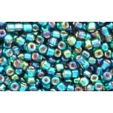 25gr Matsuno Emerald Rainbow Treasure 11/0 Rocailles