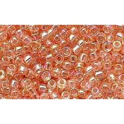 25gr Trans Rainbow Pale Peach Rocailles