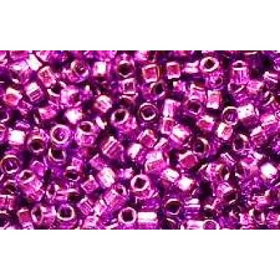 25gr Silver Lined Square Hole Purple Passion