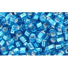 25gr Matsuno Silver Lined Turquoise Rocailles