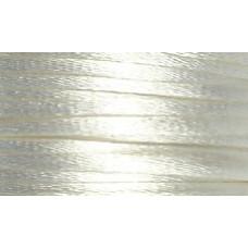 5 metres White Satin Rattail