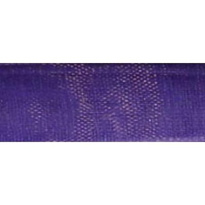 1m 9mm Intense Lavender Organza Ribbon