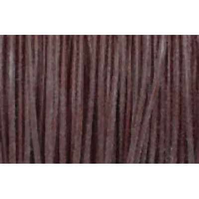 1 Metre Brown Leather Cord 1mm