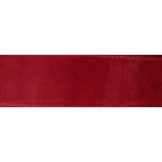 1m 9mm Claret Red Organza Ribbon