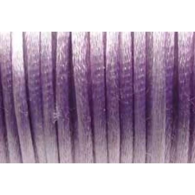 5 metres Lavender Satin Rattail