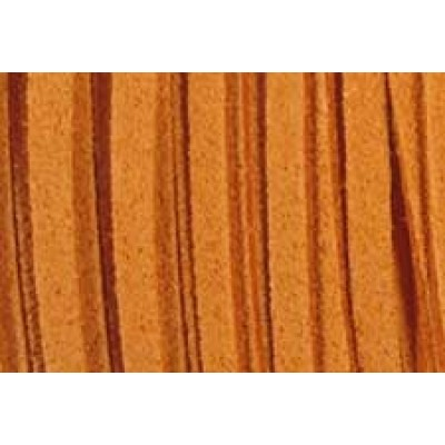 Ultrasuede Lace 3mm Rust