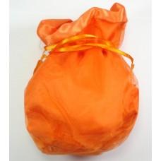 Large Organza Drawstring Pumpkin