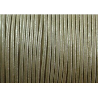 1 Metre Silver Colour Leather Cord 1.8mm
