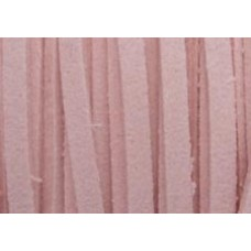 Pink Simulated Suede Cord