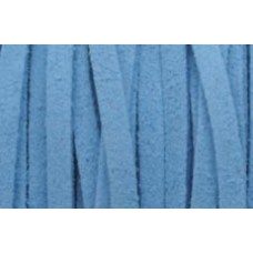 1m 3mm Blue Suede Cord