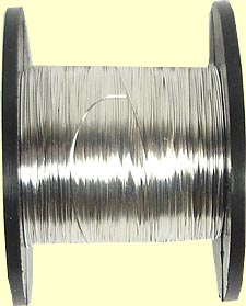 Silver Plated Wire 1.0mm -  round 18g AWG dead soft silver plated copper wire for wire wrapping 4 metres